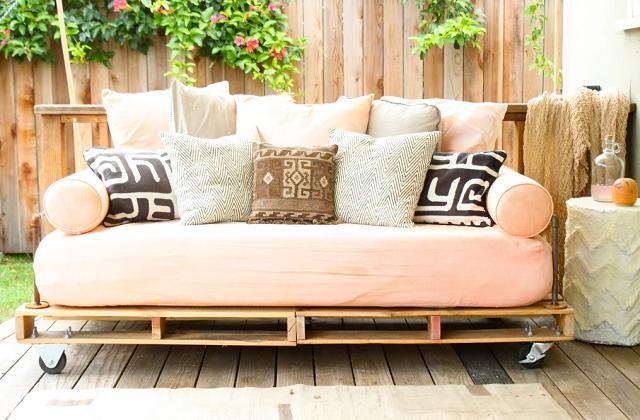 faire votre canapé avec de vieux matelas