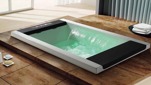comment choisir la baignoire remous pour votre salle de. Black Bedroom Furniture Sets. Home Design Ideas