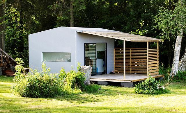 La Mini Maison Pr 233 Fabriqu 233 E Construite En 2 Jours Page 5