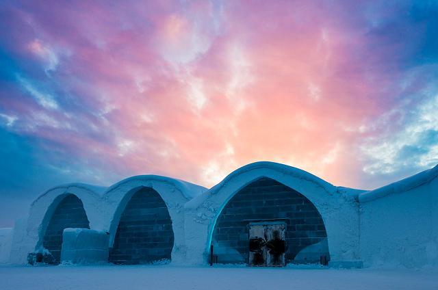 L'hôtel (de glace) le plus grand au monde