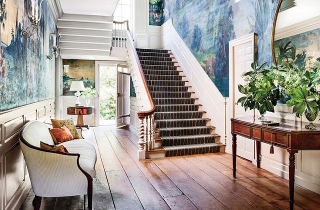 Des idées et des suggestions pour meubler l'entrée de la maison