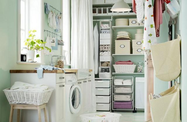 Comment organiser et meubler votre buanderie à la maison
