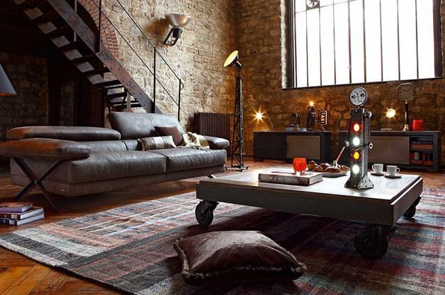 le style industriel pour d corer votre maison des id es des conseils et des inspirations. Black Bedroom Furniture Sets. Home Design Ideas