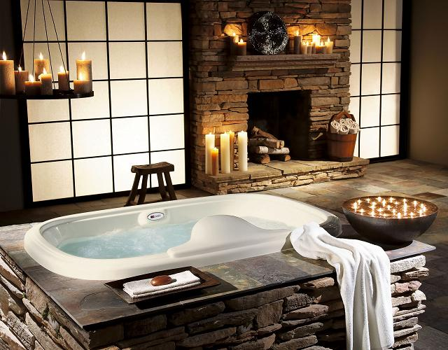 Des baignoires de luxe