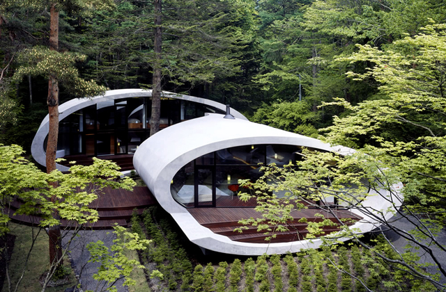 La Shell House de l'architecte Kotaro Ide