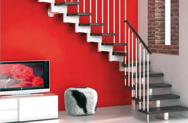 Les escaliers comme un élément de design