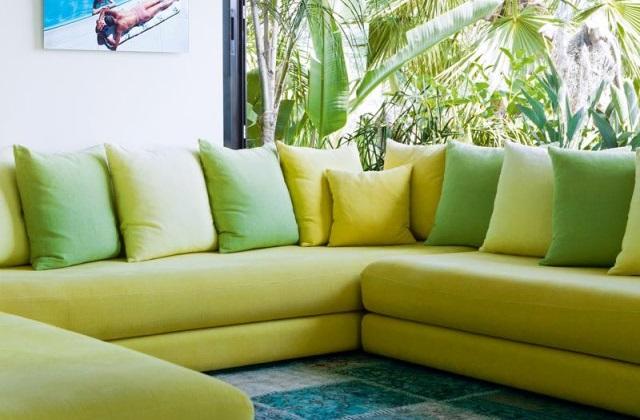 Le vert pour décorer la maison