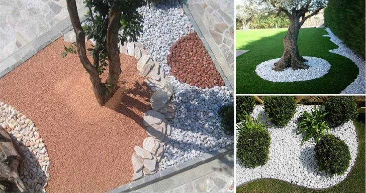 des id es pour d corer le jardin avec des pierres. Black Bedroom Furniture Sets. Home Design Ideas