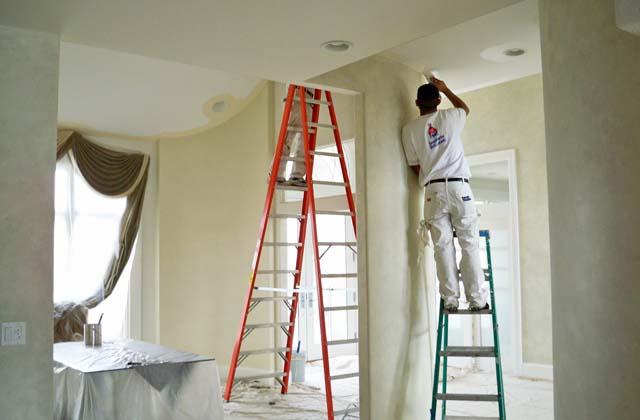 peindre le plafond sans claboussures de peinture page 2 sur 3. Black Bedroom Furniture Sets. Home Design Ideas