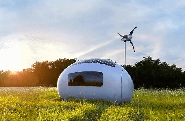 Les Ecocapsules, les mini-maisons du futur
