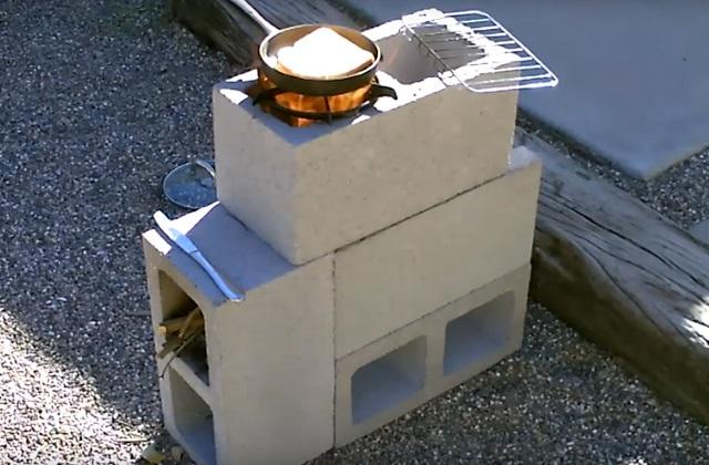 Construire sa poêle d'extérieur