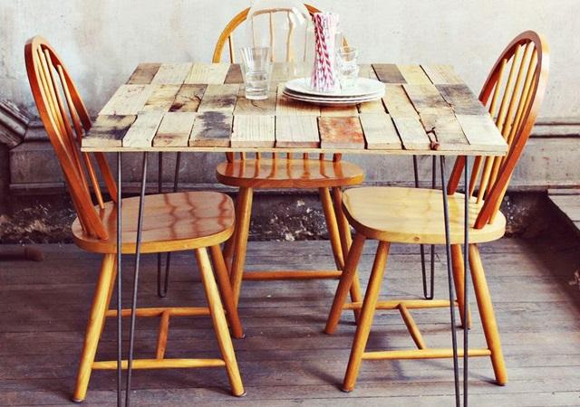 Comment construire une table rustique