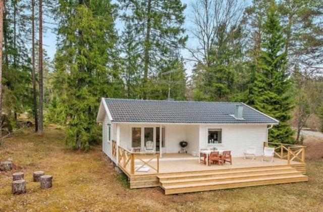 Un rêve devenu réalité : vivre dans une maison dans les bois