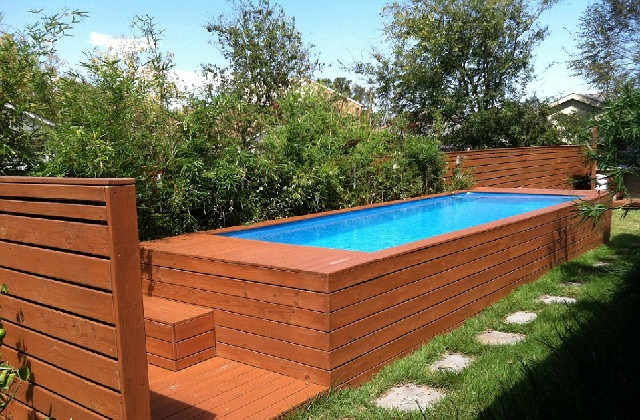 Comment transformer un conteneur d chets en piscine for Transformer une piscine