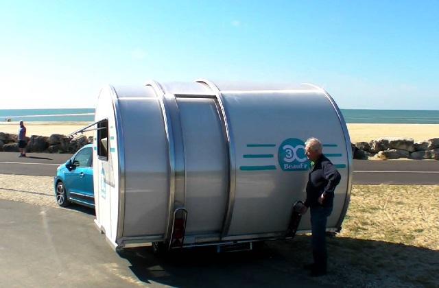Transformer la caravane par un clic