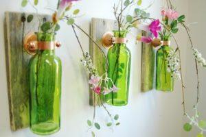 Comment recycler les bouteilles de vin et de bière pour les transformer en objets de design