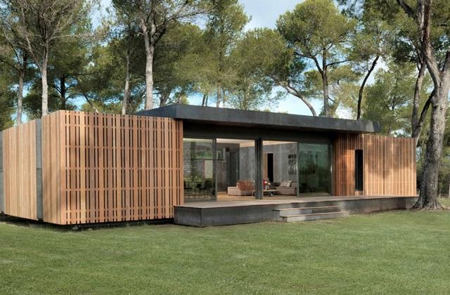 Une maison de 150 mètres construite en moins de quatre jours qui vaut 38000€