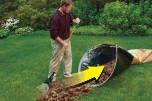 Ramasser les feuilles rapidement