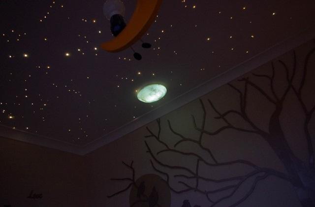 Créer un ciel étoilé sur le plafond