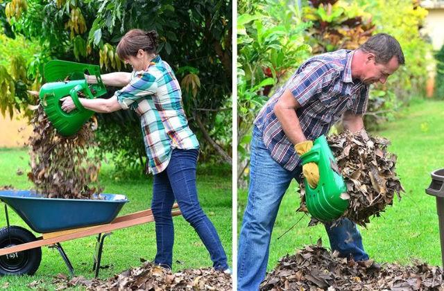 Des « pattes » pour ramasser les feuilles