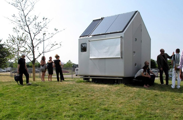 Renzo Piano et la maison la plus petite au monde