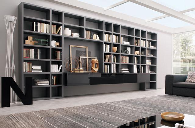 Des bibliothèques de design : décorons la maison avec les bibliothèques
