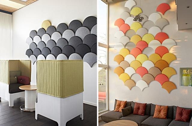 Des panneaux muraux acoustiques : pour un effet très beau et original