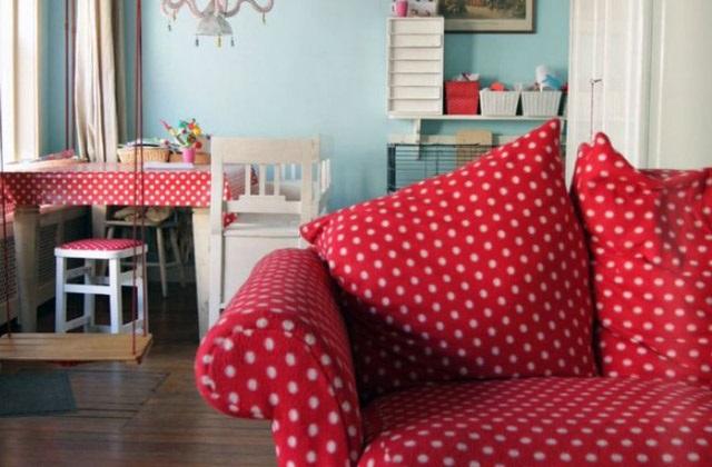 La couleur rouge pour décorer la maison : des conseils