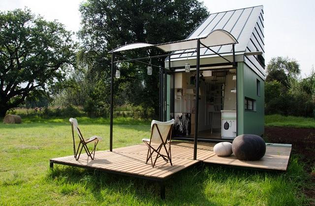 Une mini-maison de 17 m², mais avec tous les conforts