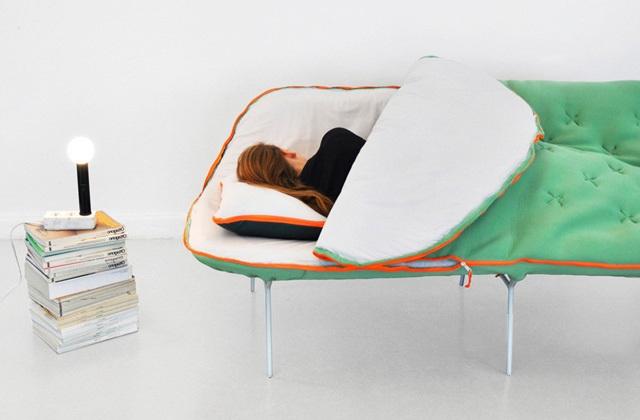Le canapé sac de couchage se bien reposer