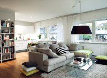 Des idées pour un salon tout gris