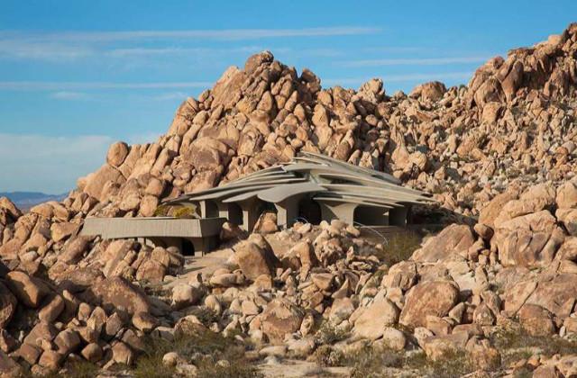 Les plus belles maisons dans la roche