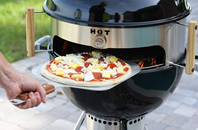 Comment cuire une pizza au barbecue