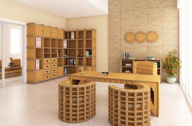 Bricolage : les meubles en carton