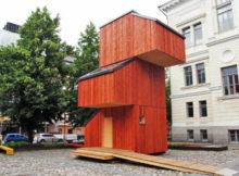 Kokoon : la petite maison à construire en seulement 24 heures