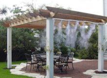 Des nébuliseurs pour le gazebo et la terrasse