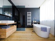Le style fusion pour la salle de bains : simplicité et élégance