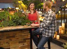 Une idée originale pour le jardin : le comptoir de bar