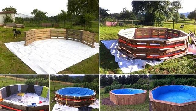 Bricolage comment construire une piscine avec des for Piscine prefabriquee