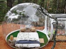 La tente transparente, pour un été sous les étoiles