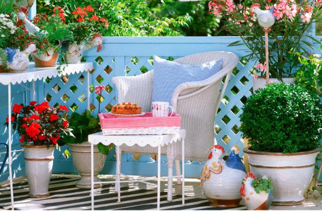Le style proven al pour meubler la terrasse ou le jardin for Meubler une terrasse