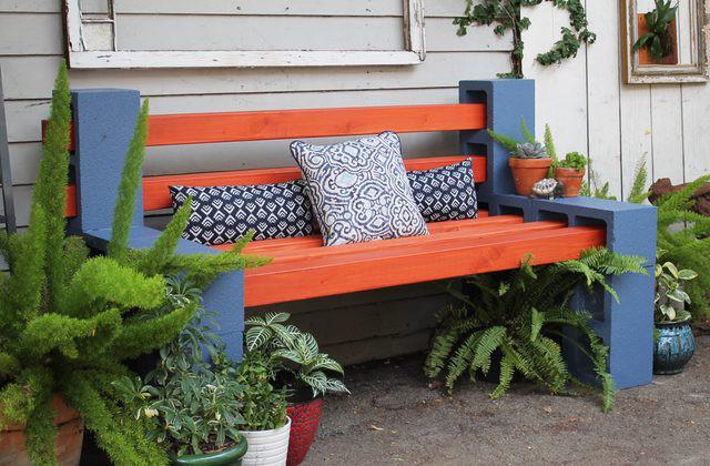 bricolage comment construire un banc. Black Bedroom Furniture Sets. Home Design Ideas