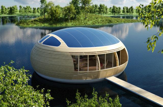 waternest 100 la maison cologique flottante. Black Bedroom Furniture Sets. Home Design Ideas