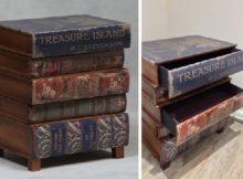 Le chiffonnier-livre pour ceux qui aiment les livres