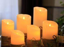 Les bougies à LED : innovation et tradition