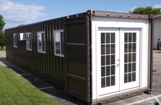 acheter une maison pr fabriqu e sur amazon. Black Bedroom Furniture Sets. Home Design Ideas