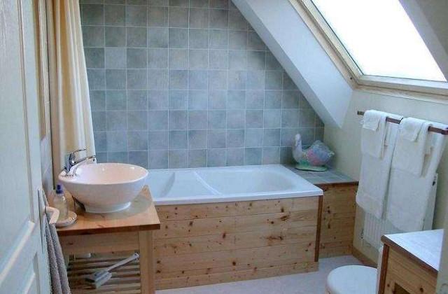 Comment construire une salle de bains dans la mansarde