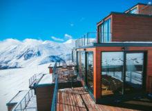 Quadrum Ski : le village de vacances de conteneurs