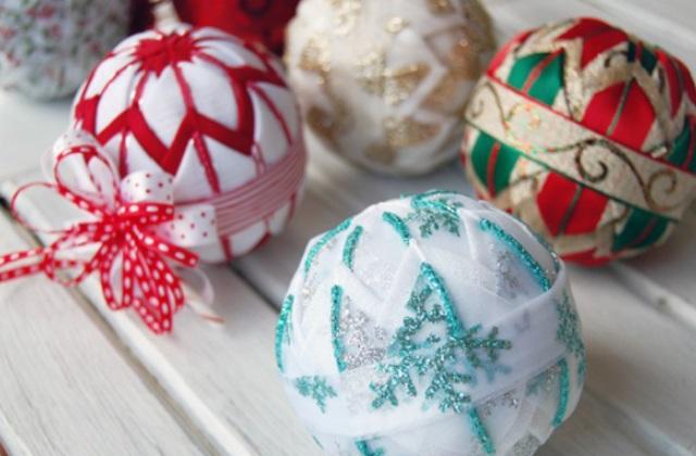 Bricolage : des décorations de Noël typiques du style nordique shabby chic