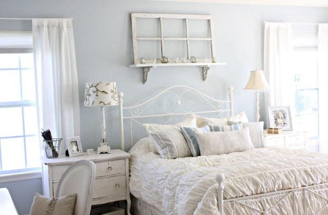 Le style shabby chic pour meubler la chambre